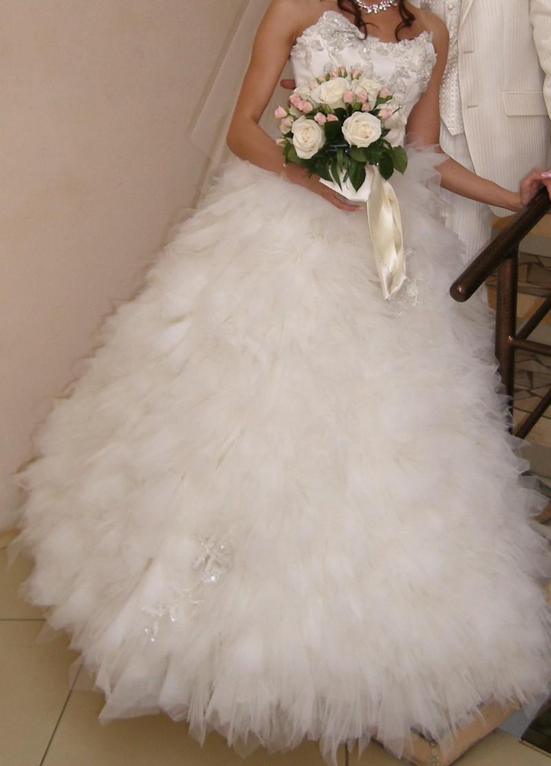 Свадебное платье БУ в Омске