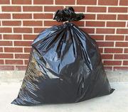 Мешки для мусора черные 120 л. 20 шт в рулоне