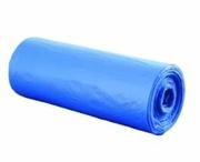 Мешки для мусора голубые 30 л.