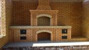 Строительство печных комплексов на улице под ключ