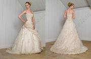 Продам свадебное платье (белое) и на қыз ұзату (бежевое) Петропавловск